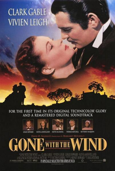 Poster Gone with the Wind (1939)