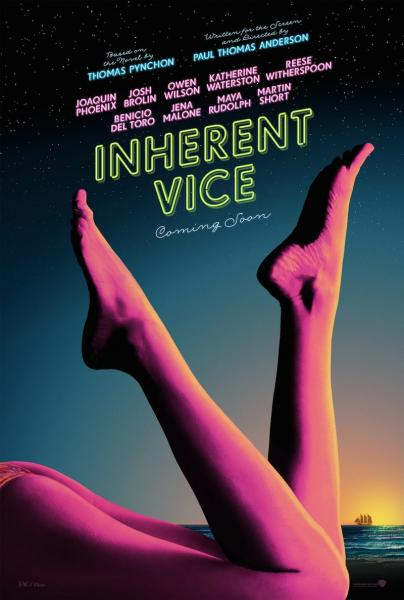 Poster Inherent Vice (2014)