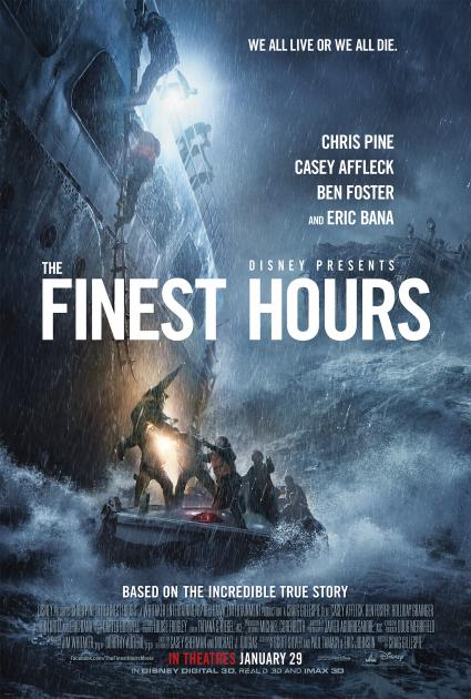Poster The Finest Hours (2016)