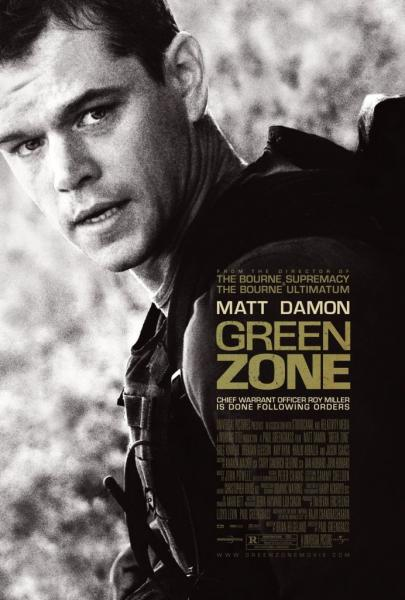 Poster Green Zone (2010)