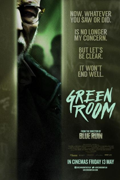 Poster Green Room (2015)