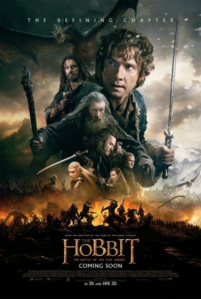 Poster The Hobbit: The Battle of the Five Armies (2014)