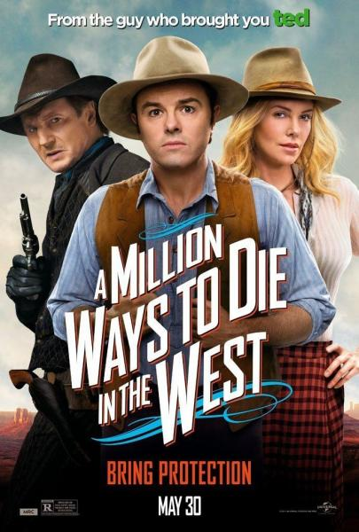 Poster A Million Ways to Die in the West (2014)