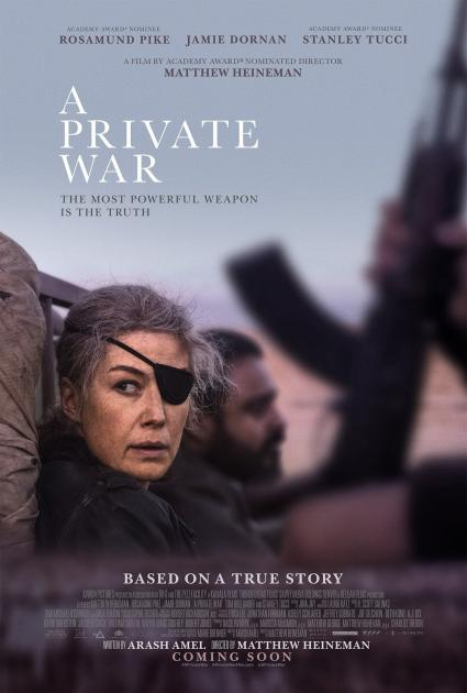 Poster A Private War (2018)