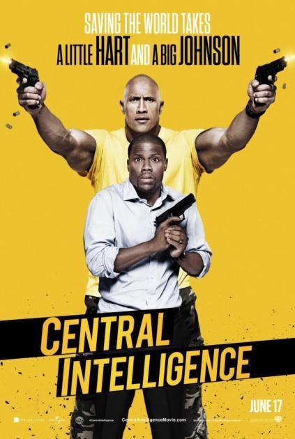 Poster Central Intelligence (2016)