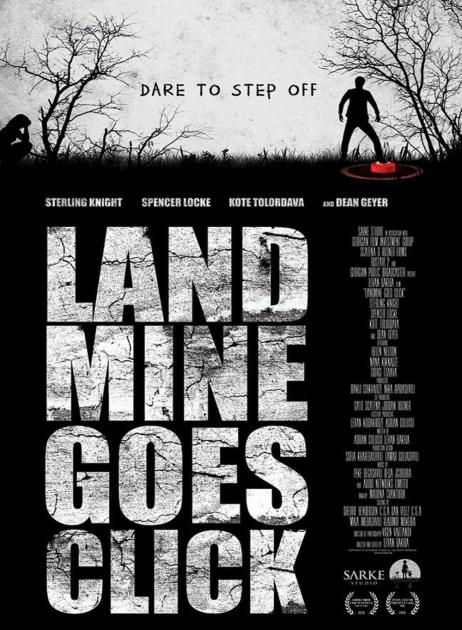 Poster Landmine Goes Click (2015)