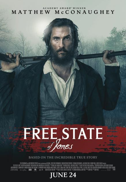 Poster Free State of Jones (2016)