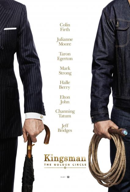 Poster Kingsman: The Golden Circle (2017)
