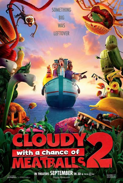 Poster Cloudy with a Chance of Meatballs 2 (2013)