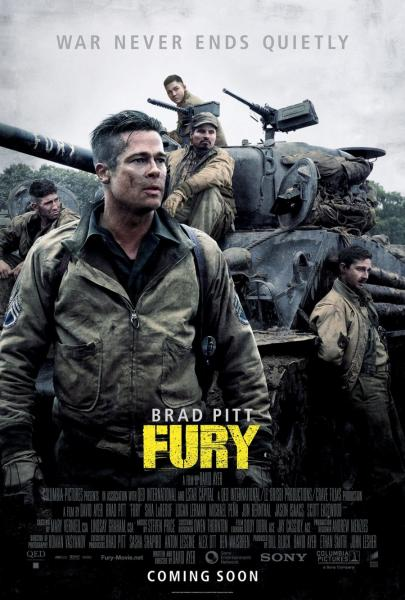 Poster Fury (2014)