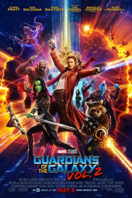 Poster Guardians of the Galaxy Vol. 2 (2017)