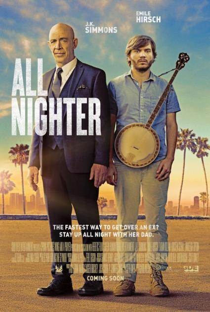 Poster All Nighter (2017)