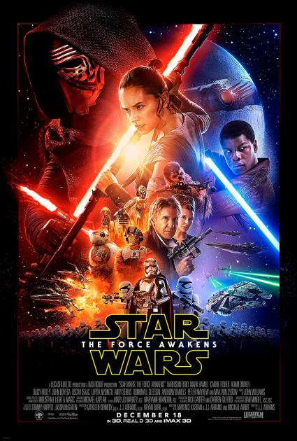 Poster Star Wars: Episode VII - The Force Awakens (2015)
