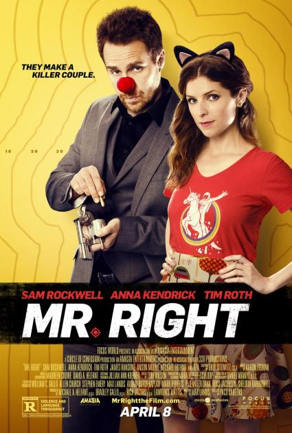 Poster Mr. Right (2016)