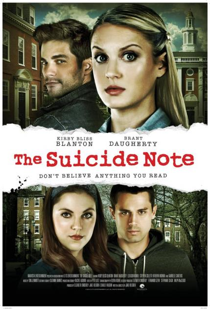 Poster Suicide Note (2016)