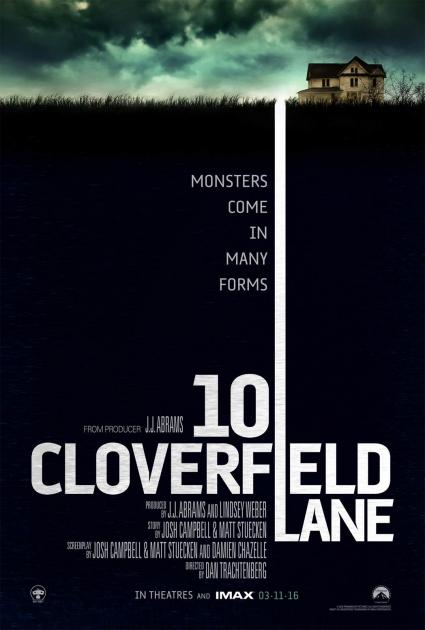 Poster 10 Cloverfield Lane (2016)