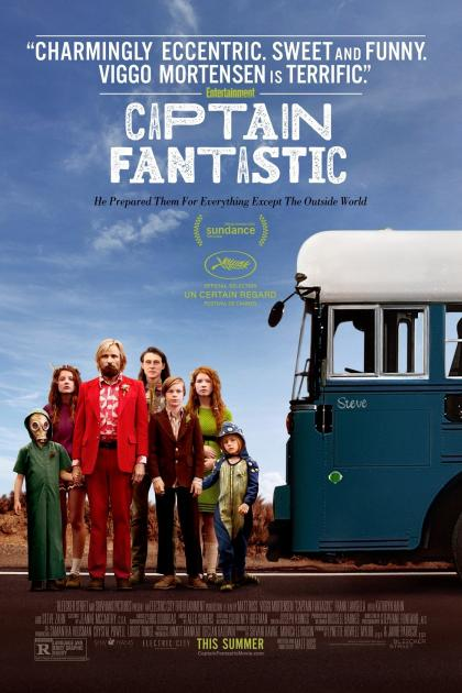 Poster Captain Fantastic (2016)