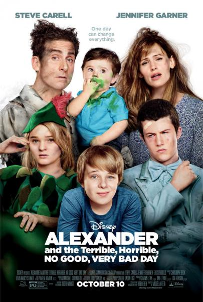 Poster Alexander and the Terrible, Horrible, No Good, Very Bad Day (2014)