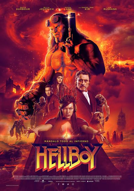 Poster Hellboy (2019)