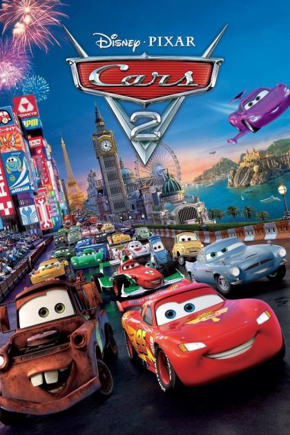 Poster Cars 2 (2011)