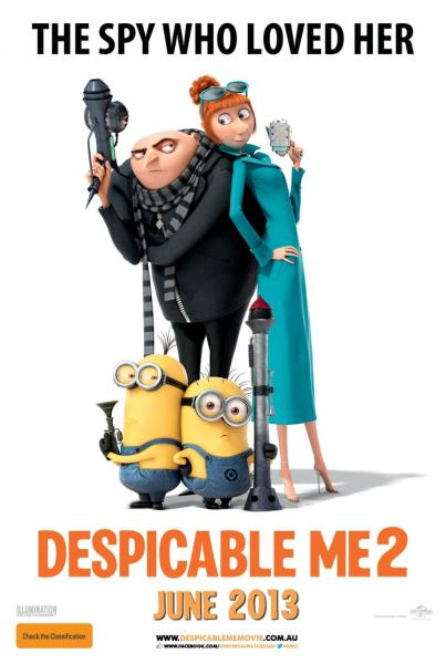 Poster Despicable Me 2 (2013)