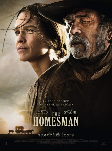 Poster The Homesman (2014)