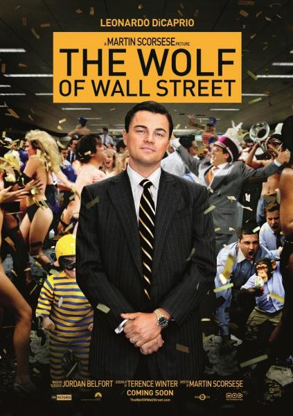 Poster The Wolf of Wall Street (2013)