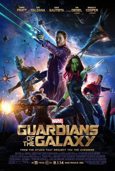Poster Guardians of the Galaxy (2014)