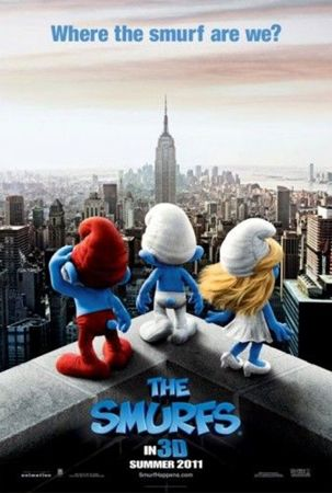 Poster The Smurfs (2011)