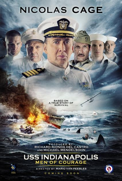Poster USS Indianapolis: Men of Courage (2016)