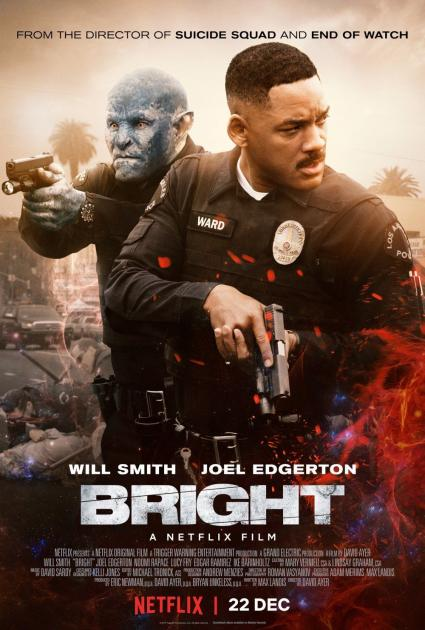 Poster Bright (2017)
