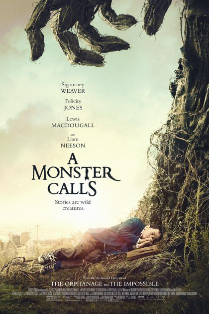 Poster A Monster Calls (2016)