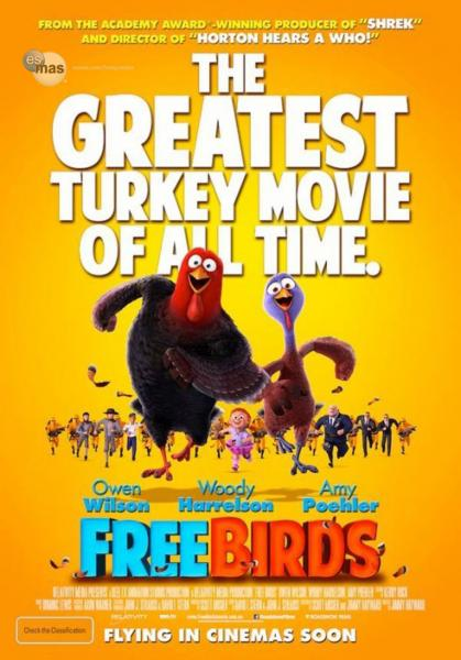 Poster Free Birds (2013)