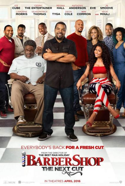 Poster Barbershop: The Next Cut (2016)
