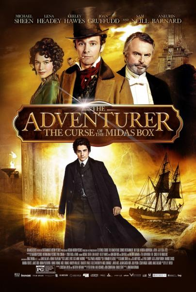 Poster The Adventurer: The Curse of the Midas Box (2013)