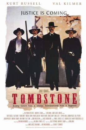 Poster Tombstone (1993)