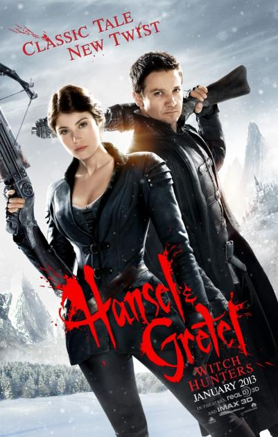 Poster Hansel & Gretel: Witch Hunters (2013)