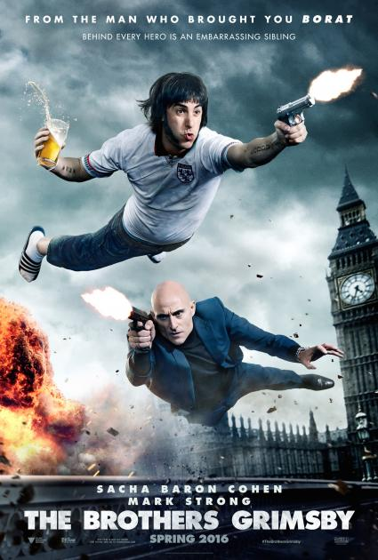 Poster The Brothers Grimsby (2016)