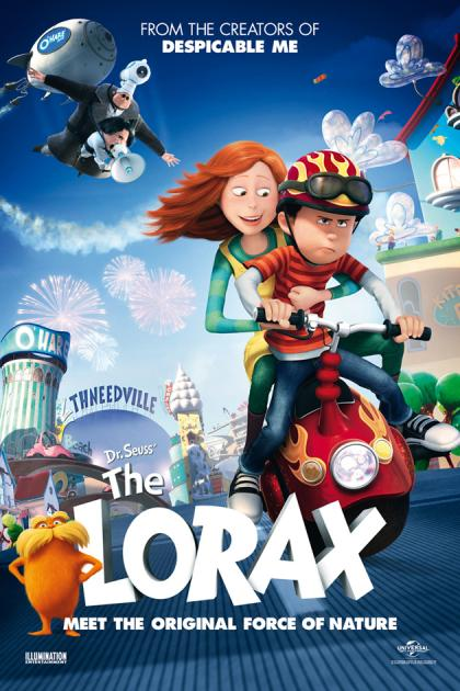 Poster The Lorax (2012)