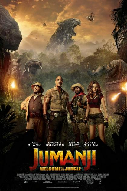 Poster Jumanji: Welcome to the Jungle (2017)