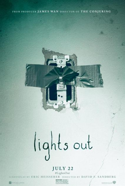 Poster Lights Out (2016)