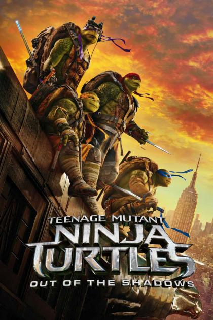 Poster Teenage Mutant Ninja Turtles: Out of the Shadows (2016)