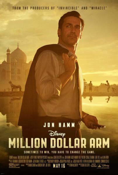 Poster Million Dollar Arm (2014)