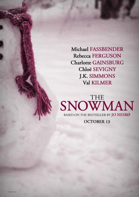 Poster The Snowman (2017)