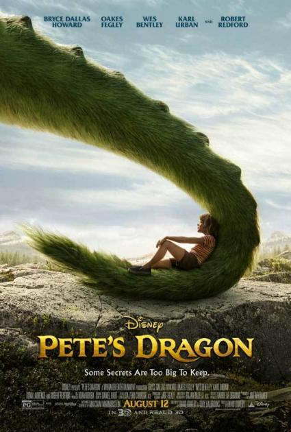 Poster Pete's Dragon (2016)